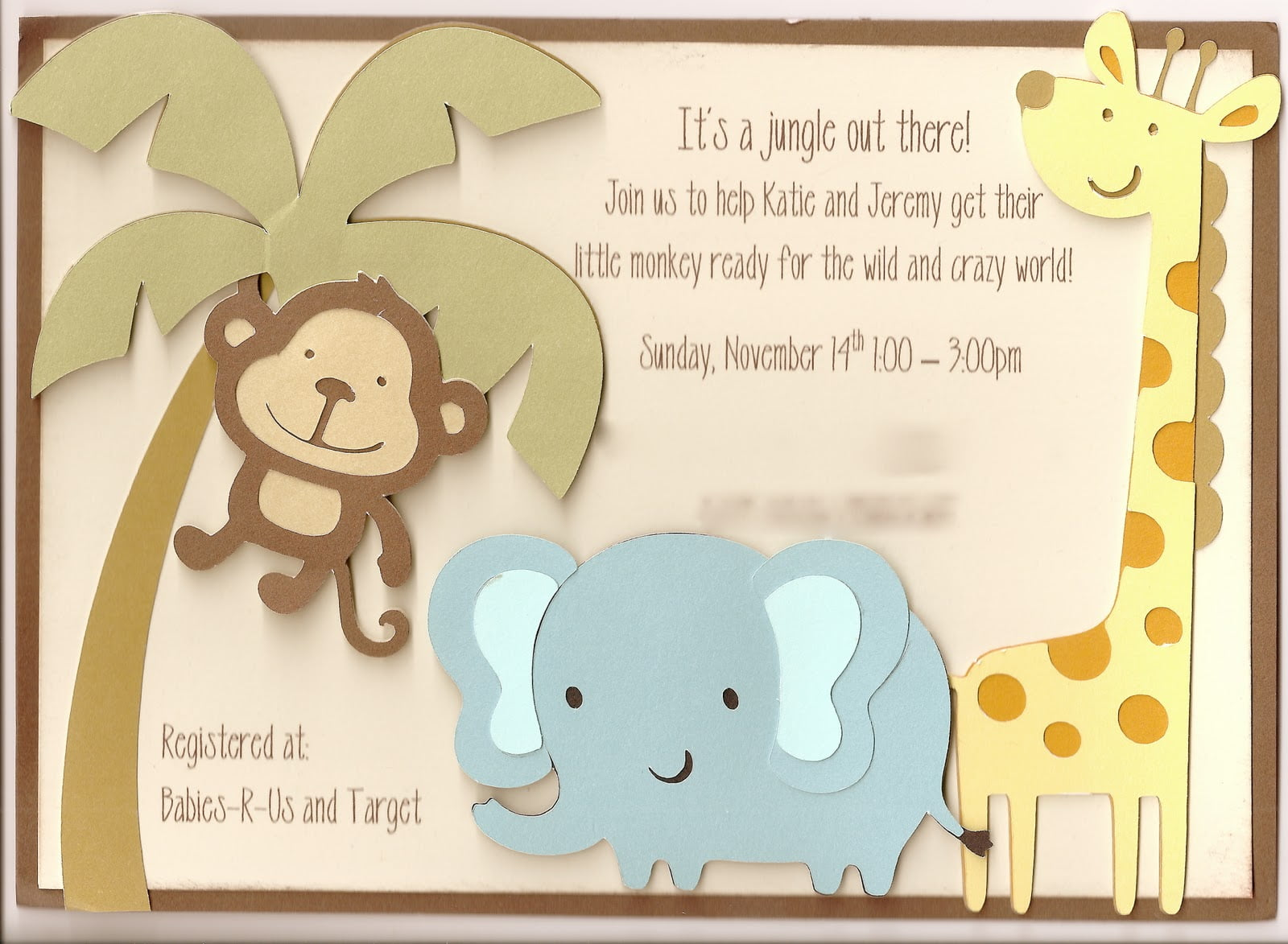 Making Your Own Funny Baby Shower Invitations | Baby Shower for Parents