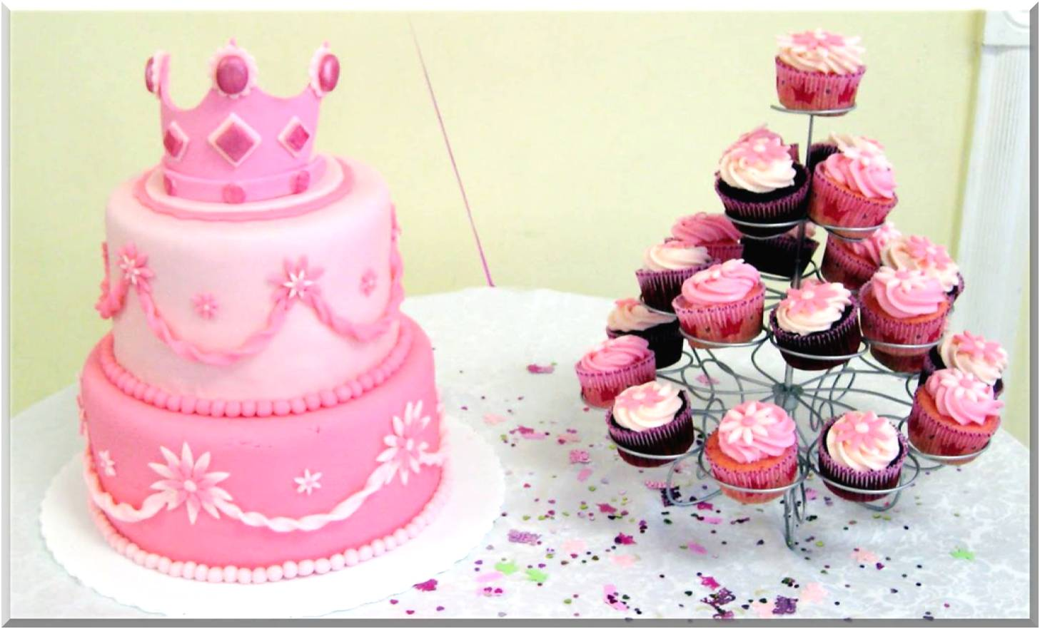 Baby Girl Baby Shower Decoration Ideas
