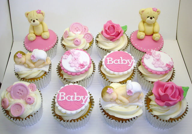 easy recipes for your baby shower cupcake free printable