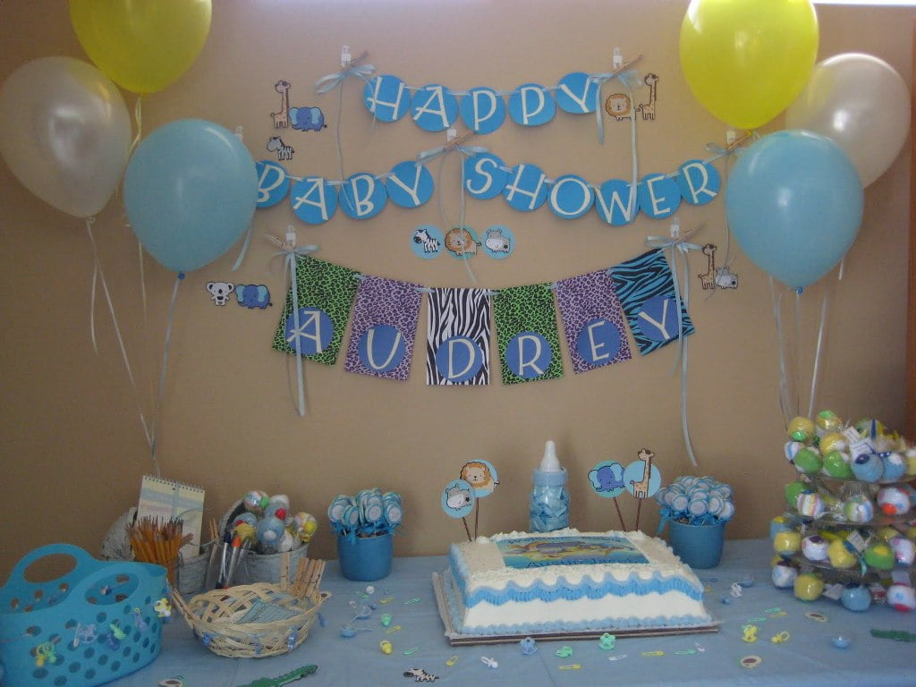 Baby Shower Ideas For Boys Decoration