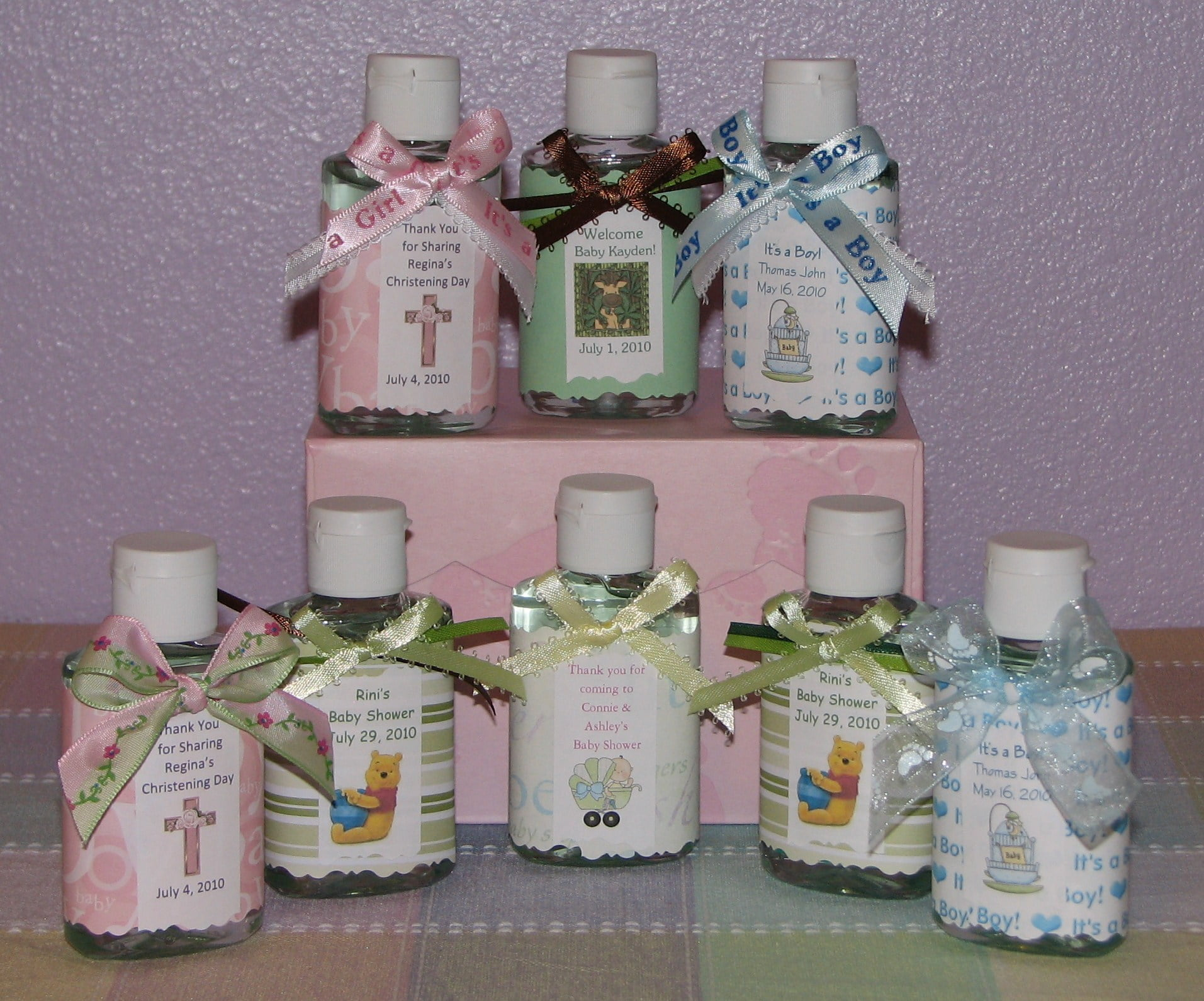 Three Creative Ideas To Make Homemade Baby Shower Favors