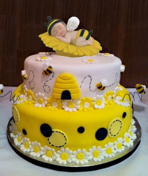 Bumble Bee Birthday Cake Decorations