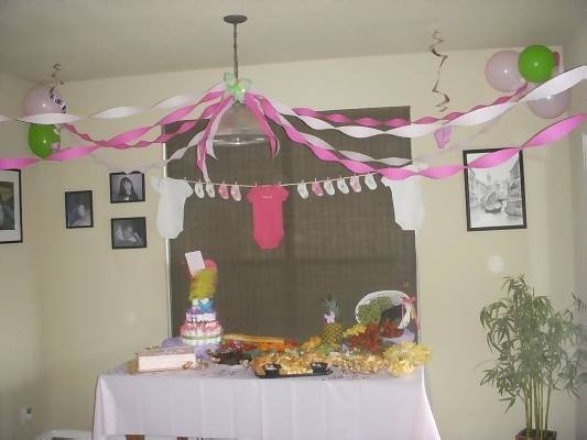 Cheap Baby Shower Decoration Ideas