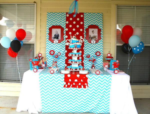 Dr Seuss Theme Baby Shower Ideas For Boys