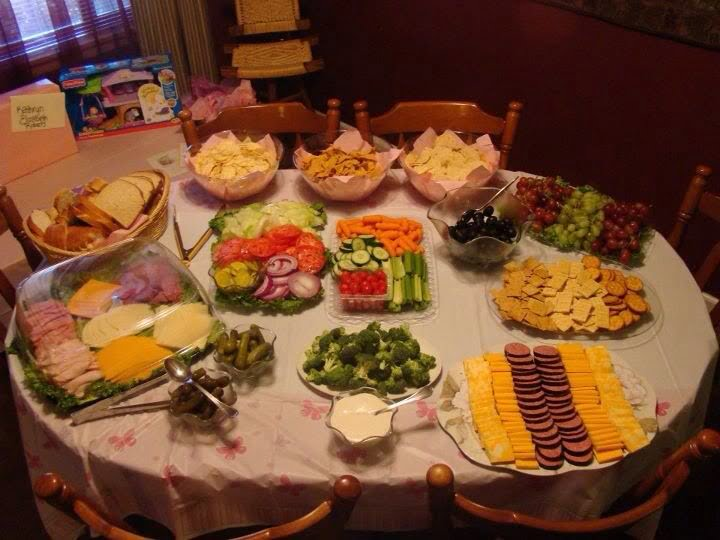 what should you serve food for baby showers baby shower for parents