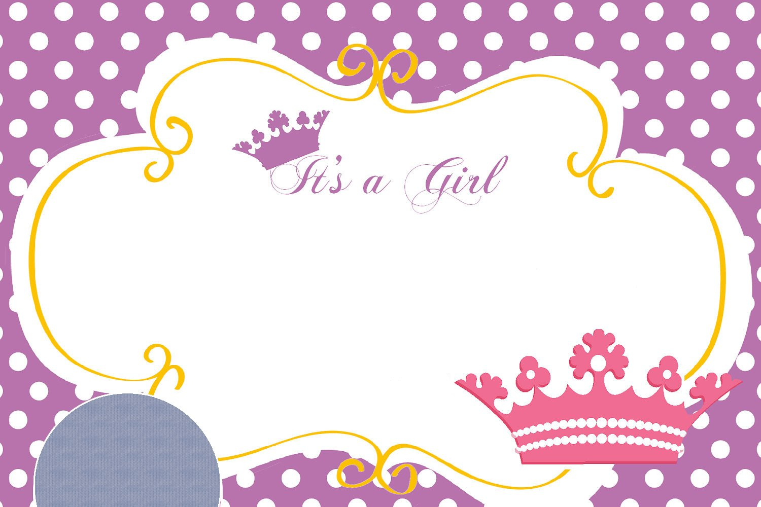 FREE-Printable-Princess-Crown-Baby-Shower-Invitation – Baby Shower ...