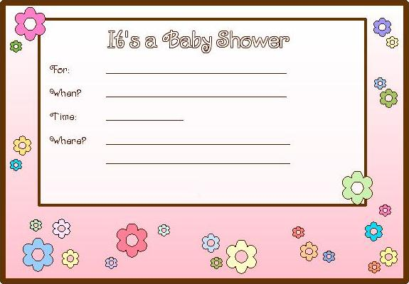 free printable baby shower invitations for perfect shower baby