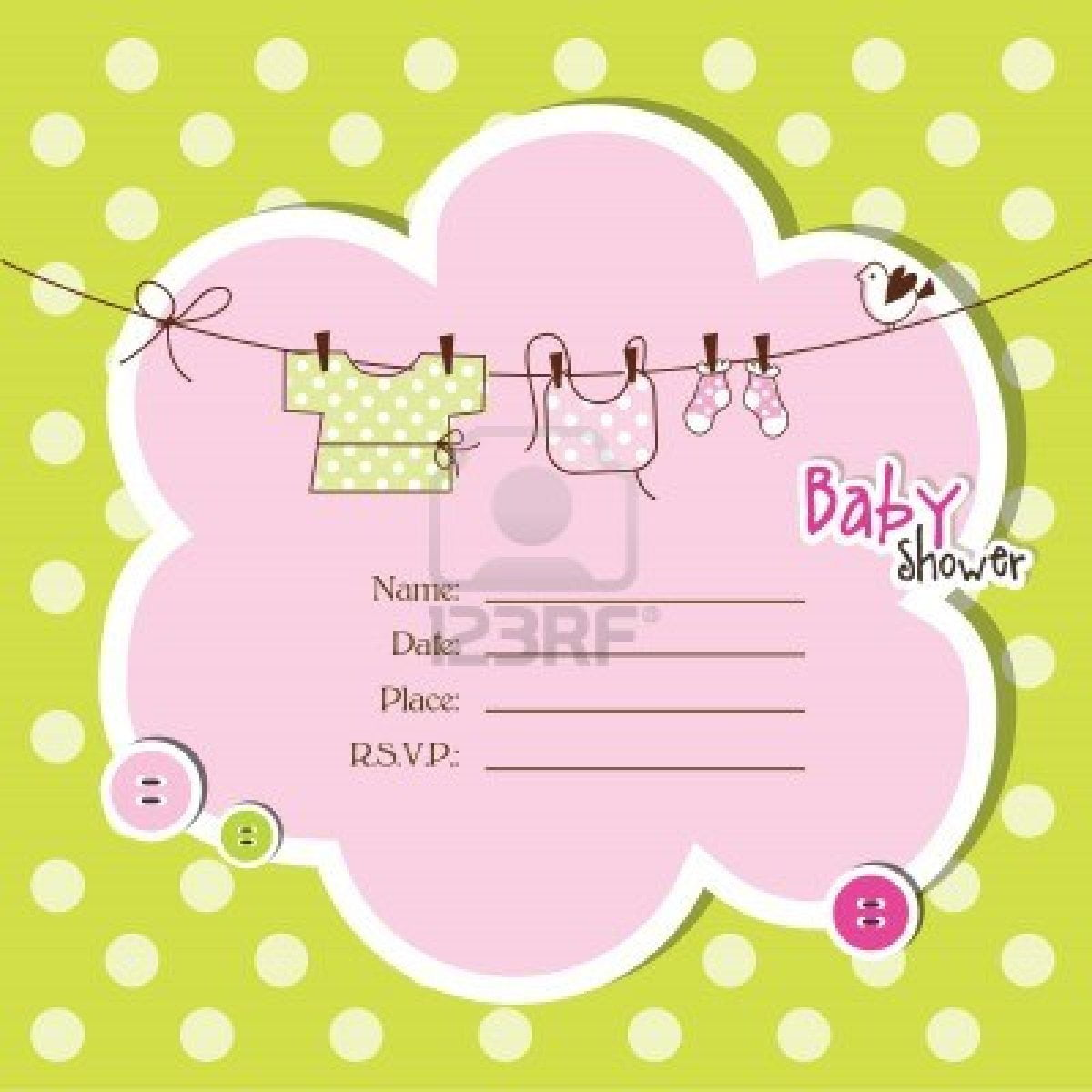 Free baby shower invitations baby shower for parents for Free baby shower invitation templates