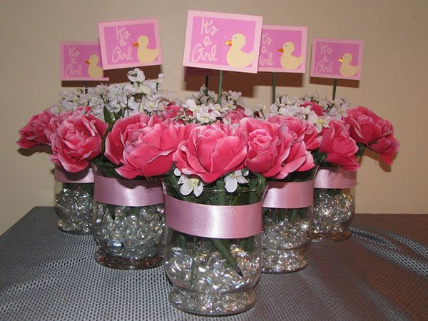 Easy to make baby shower centerpieces free printable