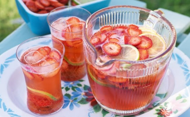 Healthy Punch For Baby Shower Party