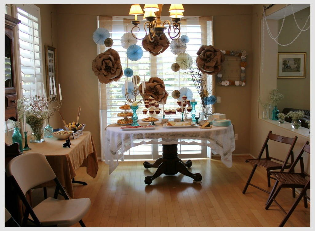 Inexpensive Baby Shower Decoration Ideas At Home