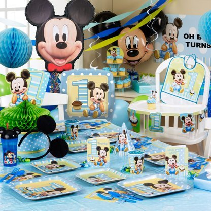 Mickey Mouse Theme Ideas For Baby Shower