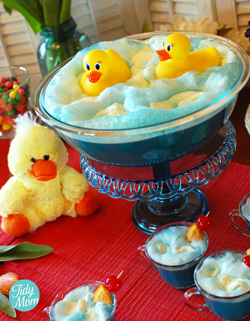 Rubber Ducky Baby Shower Punch