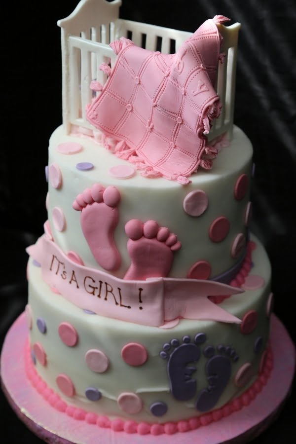 Cake Design Baby Shower Girl : Make A Baby Shower Cakes For Girls Baby Shower for Parents