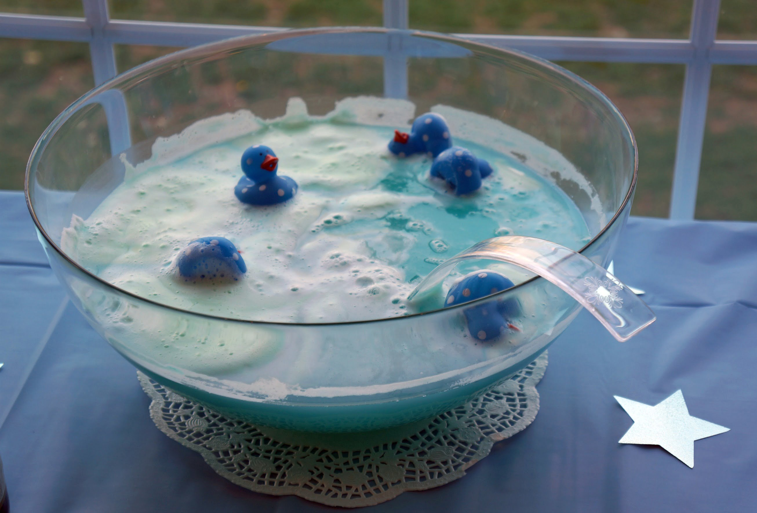 Baby shower punch recipe baby shower for parents for Baby boy baby shower decoration ideas