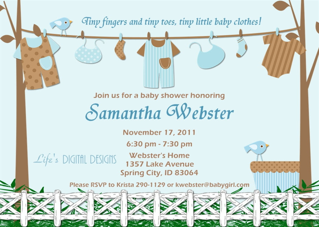 Baby Shower Card Sayings For Baby Boy | FREE Printable Baby Shower ...