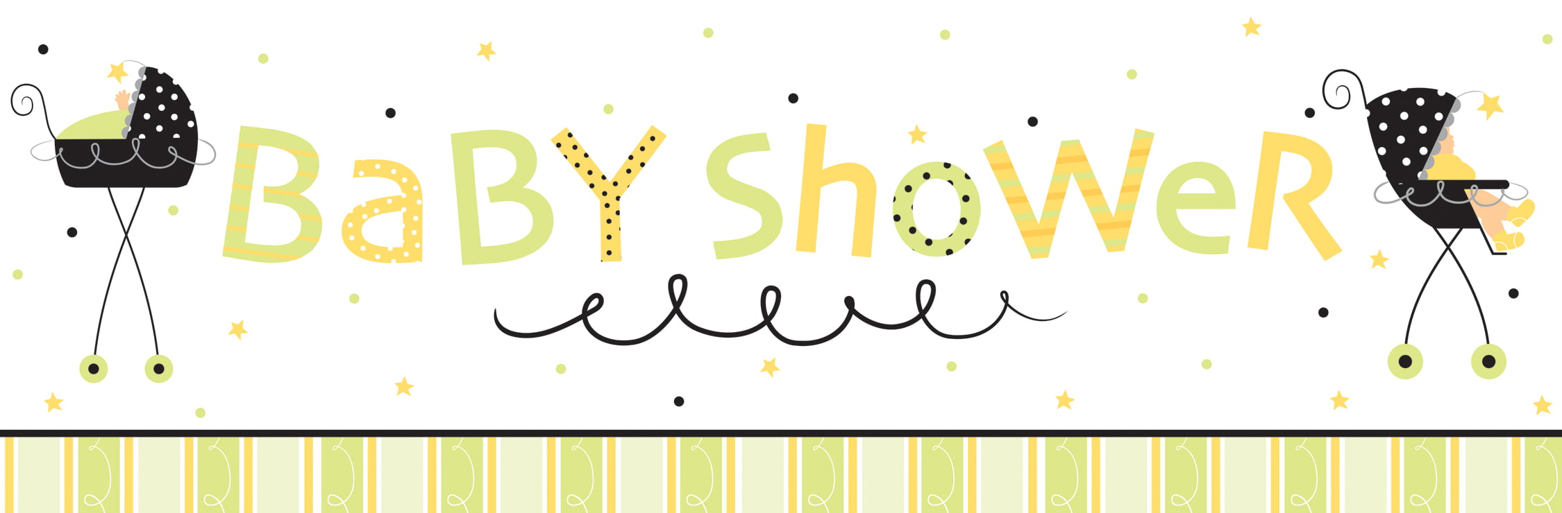 photo about Free Printable Baby Shower Banner identified as How Toward Create Kid Shower Banner With Photoshop ? Free of charge