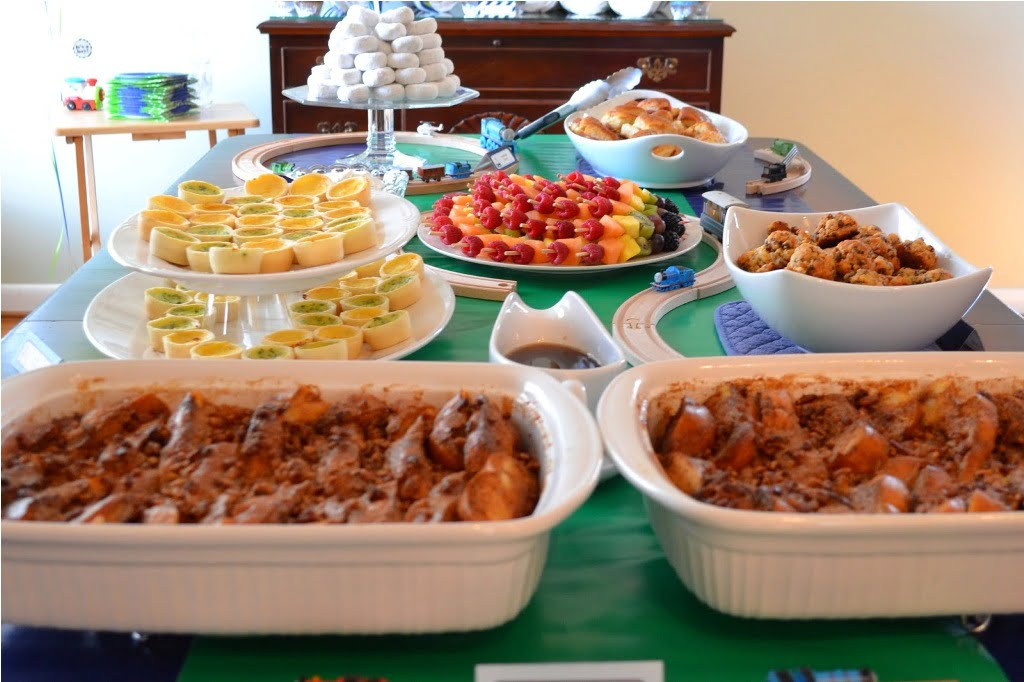 baby shower brunch food