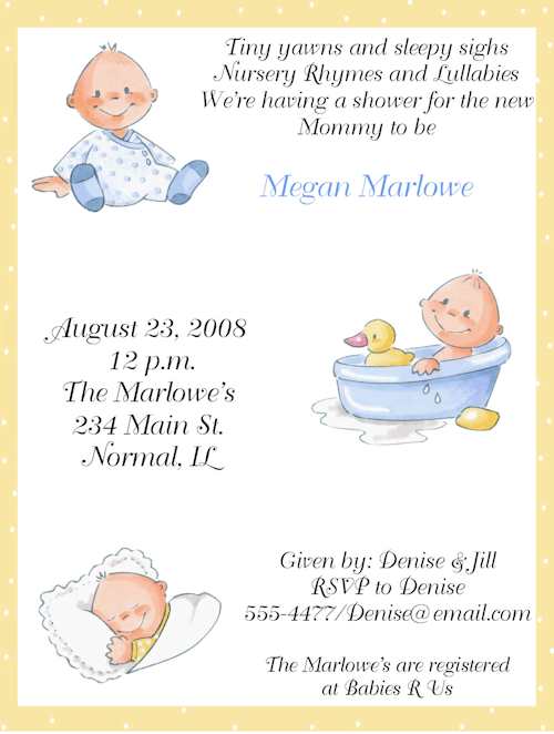 Baby Shower Card Sayings For Baby Boy Template