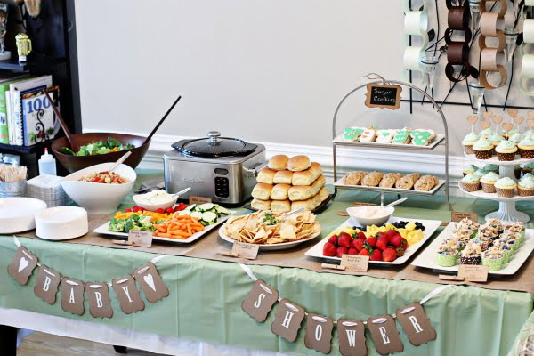ideas for baby shower lunch baby shower for parents