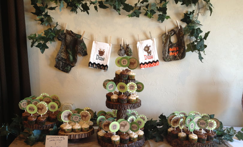 How To Throw Camouflage Themed Baby Shower Free