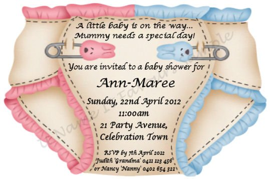 Make Your Own Baby Shower Invitations  Free Printable Baby Shower