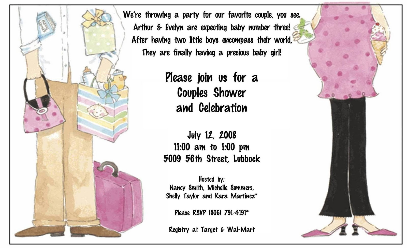 How To Make Your Own Baby Shower Invitations Free Printable Baby