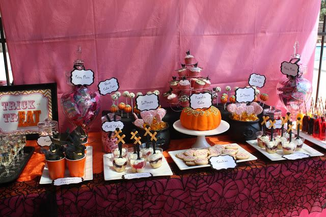 halloween themed baby shower decoration ideas