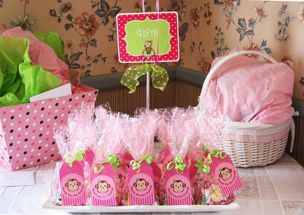Monkey Baby Shower Gift For Baby Girls