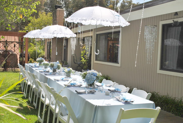how to plan outdoor baby shower party baby shower for