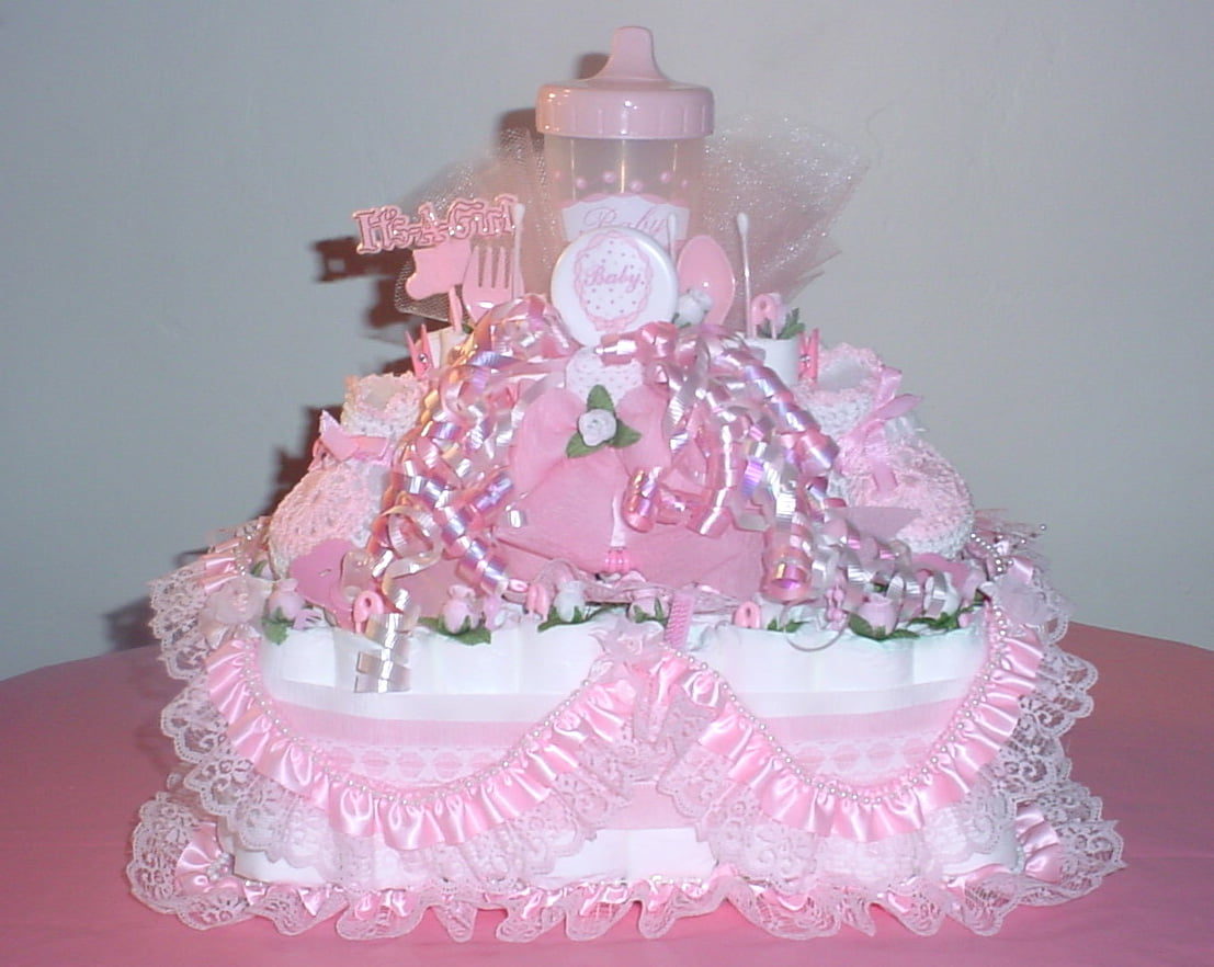 You should know what the baby shower diapers cakes for Baby shower decoration diaper cake