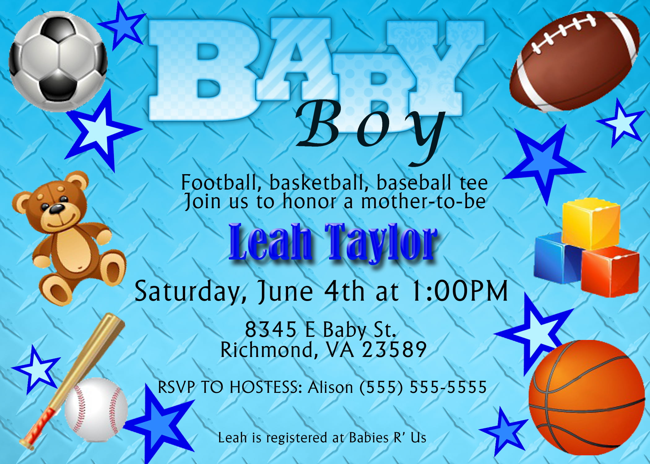 Baseball baby shower invitations free printable baby shower sports themed baby shower invitation templates filmwisefo Images