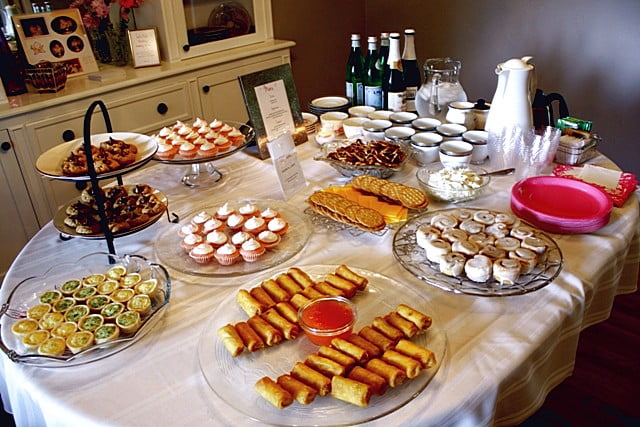 easy baby shower food ideas baby shower for parents