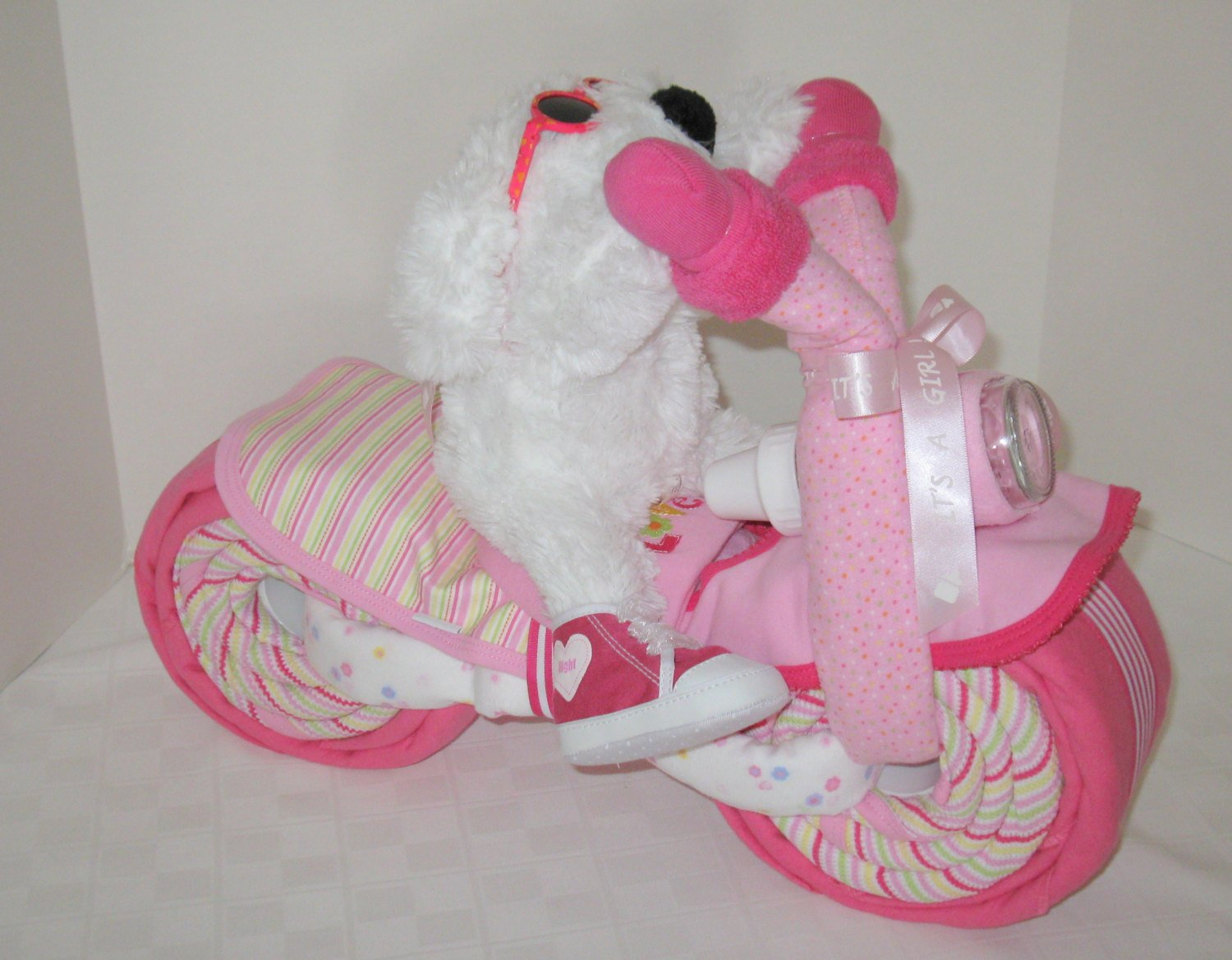 Tricycle Bear Baby Shower Gifts For Baby Girls
