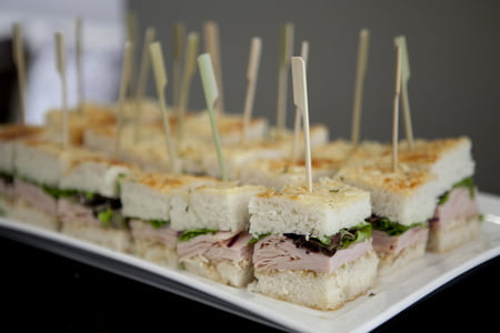 Tuna Sandwich Baby Shower Finger Food