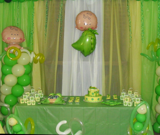 Pea in the pod baby shower ideas