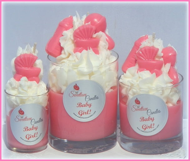 upcake jar candle baby shower favors for girls