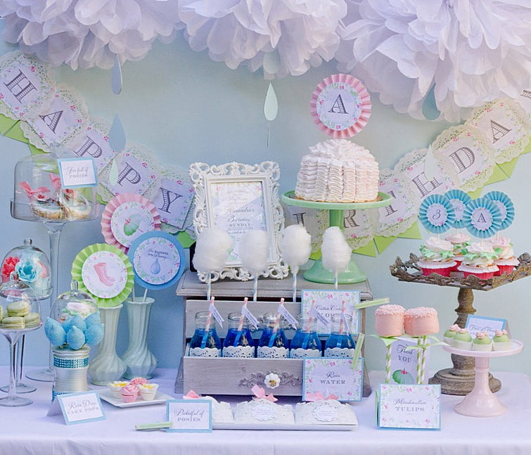 Blue Baby Shower Decoration Ideas For Baby Boys