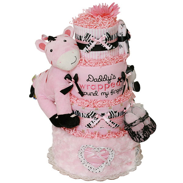 Cheap Diaper Cakes For Baby Showers