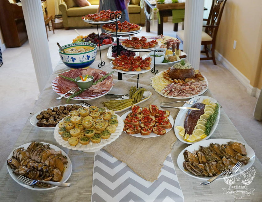 Food Menu Ideas When Hosting A Baby Shower