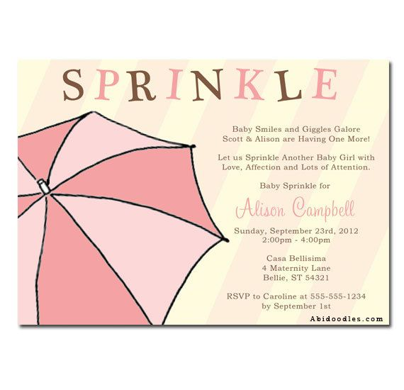 Pink Michaels Baby Shower Invitations