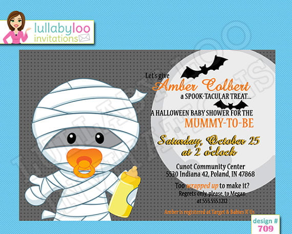 mummy affordable baby shower invitations
