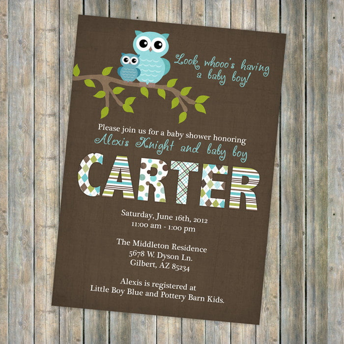 Baby boy shower invitations wording free printable baby shower owl baby boy shower invitation wording filmwisefo