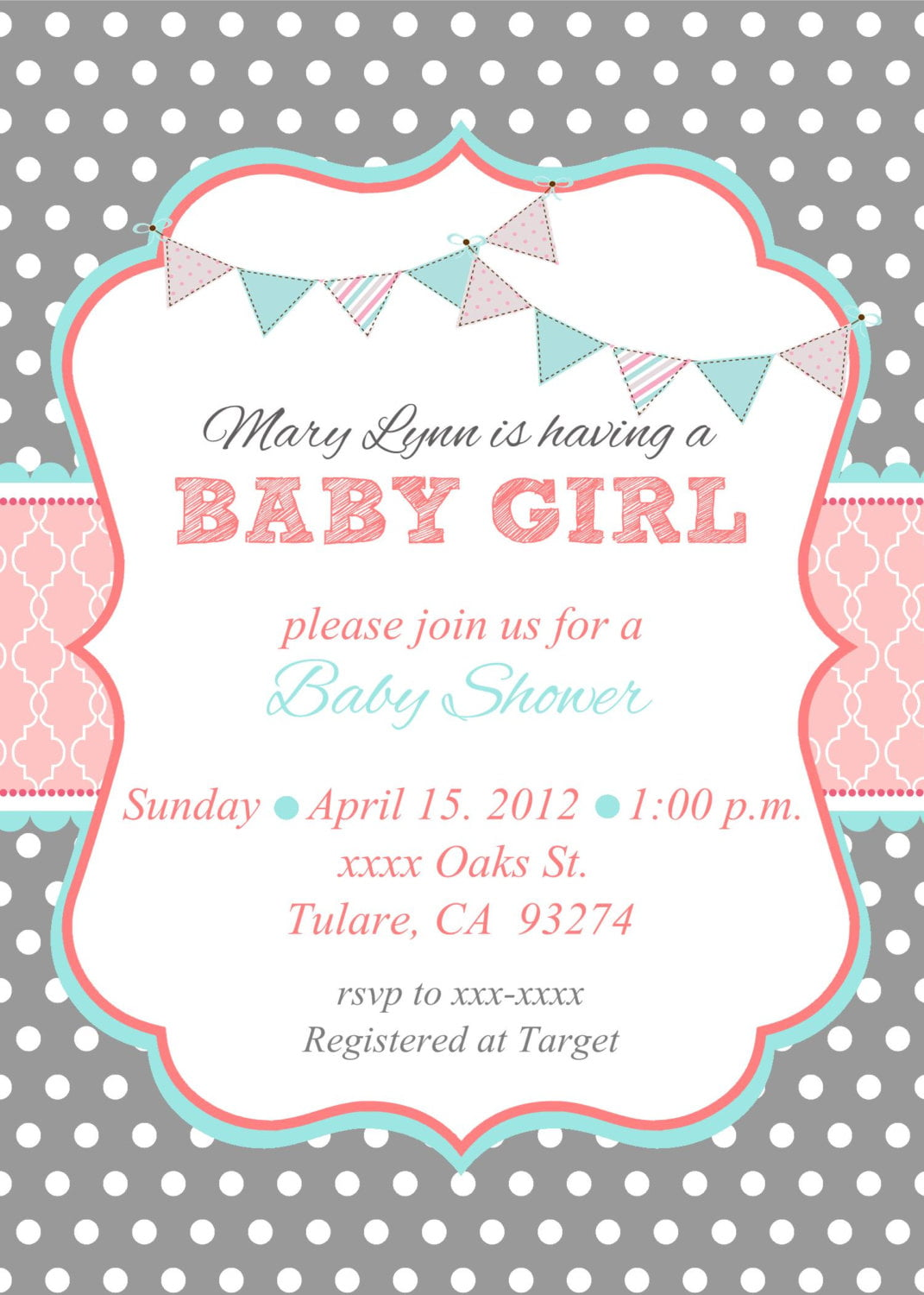 Baby Shower Invites Etsy | Baby Shower for Parents