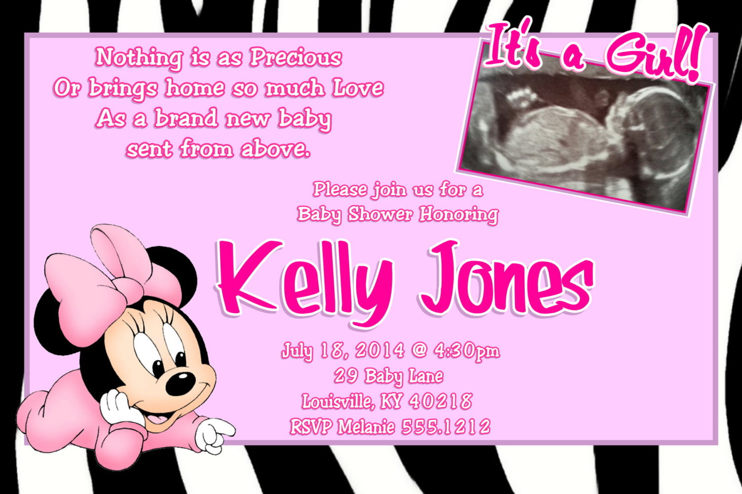 baby minnie mouse baby shower invitations baby shower for parents