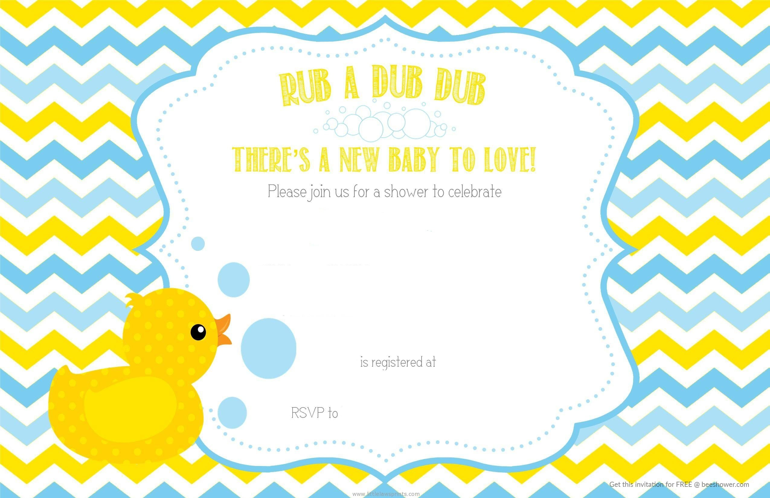 duck chevron baby shower invitation baby shower for parents