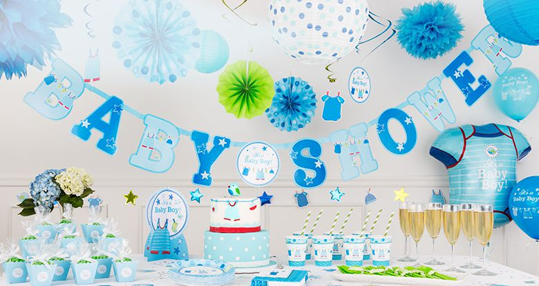 Do it yourself baby shower invitation ideas baby shower for Baby shower decoration kits boy