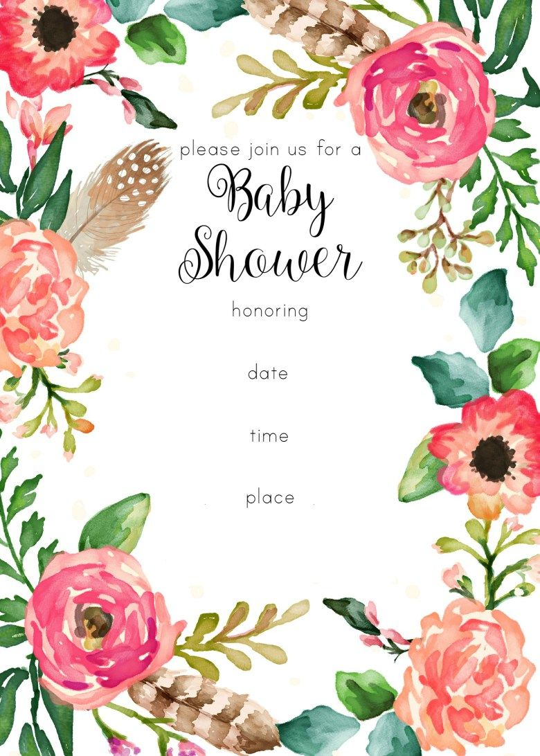 This is a picture of Nerdy Baby Shower Invitation Templates Free Printable