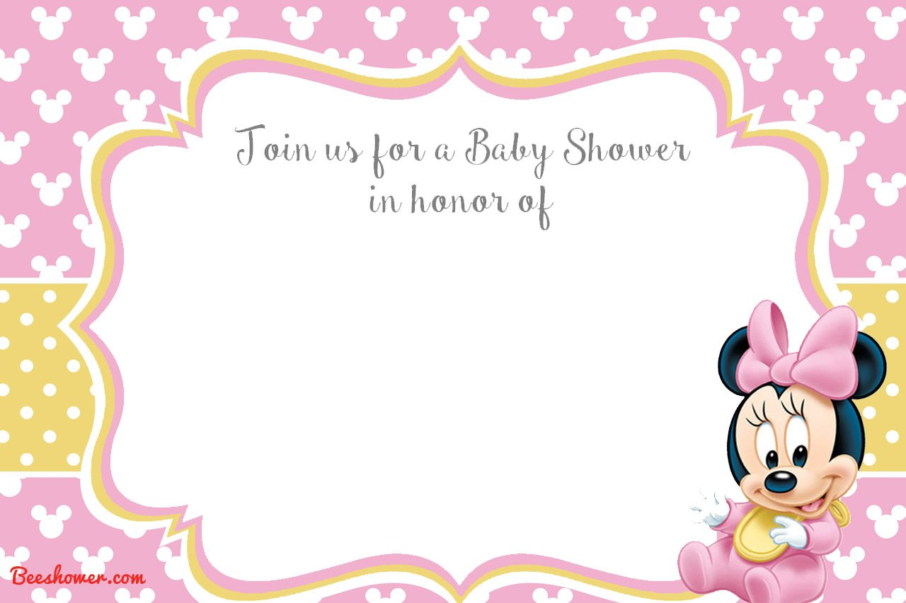 You Can Add Some Text And Photo On It With Fancy And Popular Mickey Mouse  Font. How To Download Mickey Mouse Baby Shower Invitation?