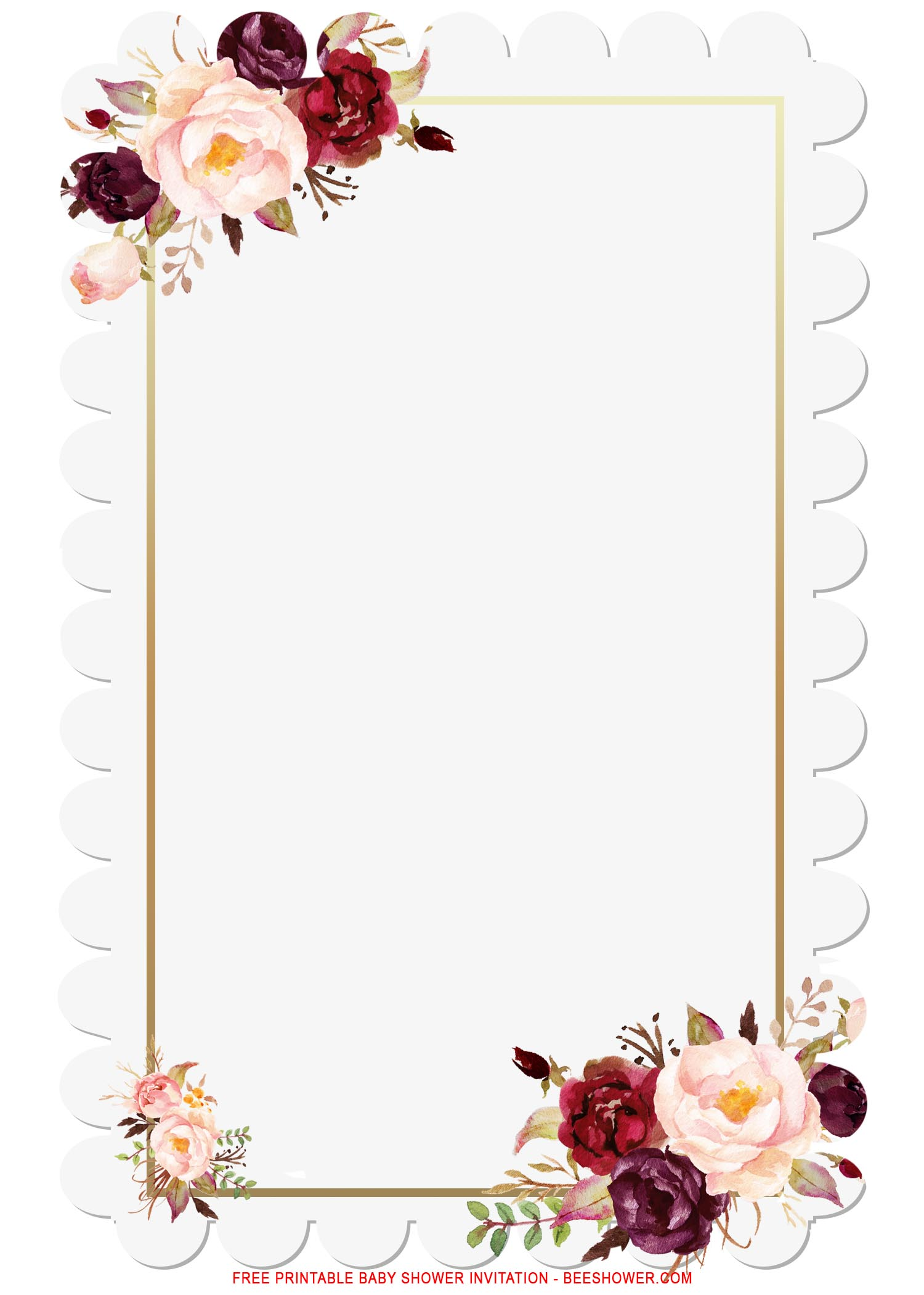 Birthday Frame Template